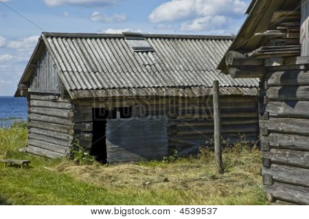 Old Wooden Cowshed