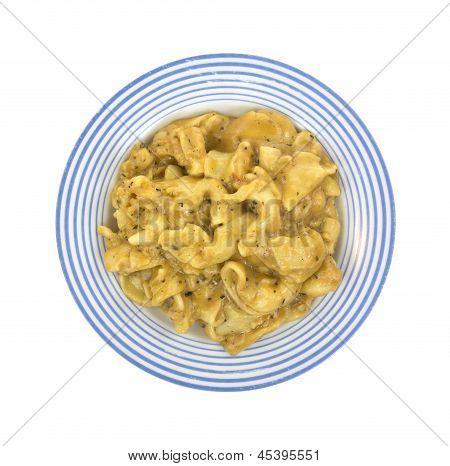 Tortellini Tv Dinner On Plate