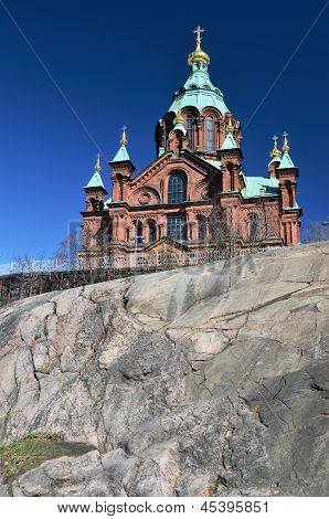Uspenski Cathedral, 19Th-century Eastern Orthodox Church Building In Helsinki