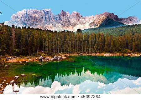 lake In Dolomites