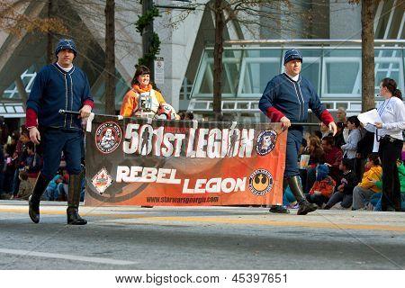 Stars Wars Rebel Legion Marches In Atlanta Christmas Parade