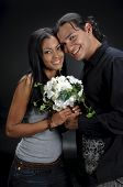 Nice Hispanic Couple