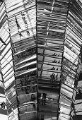 Berlin Reichstag Architecture Mirrors poster
