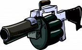 foto of rg  - Illustration of grenade launcher - JPG