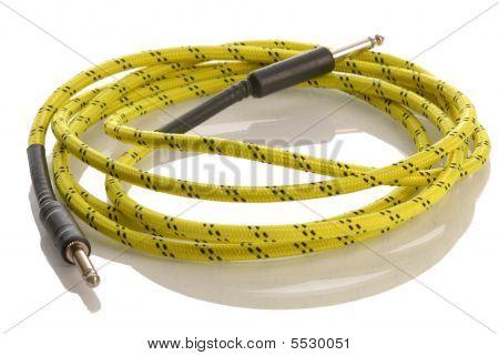 Cable de guitarra eléctrica