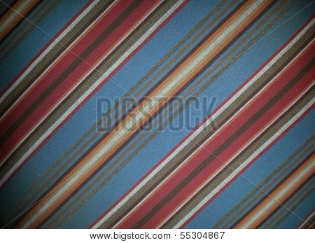 Red Stripes on Blue