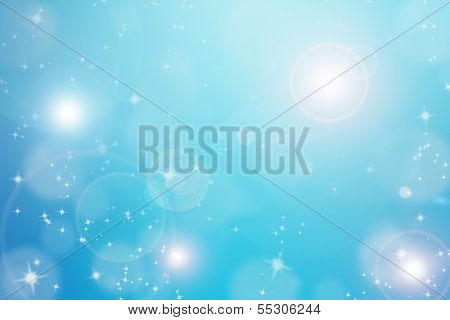 Abstract Backgroud With Flare And Glittering Star