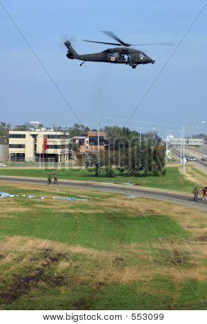 Rescue Chopper Takeoff