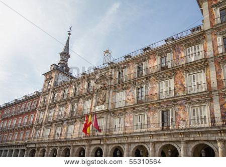House bakery in Plaza Mayor of Madrid, Spain