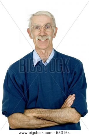 Potrait Of An Elderly Man