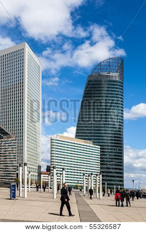 Skyscrapers In La Defense