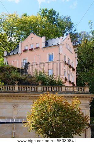 Small house in Karlsbad (Karlovy Vary)