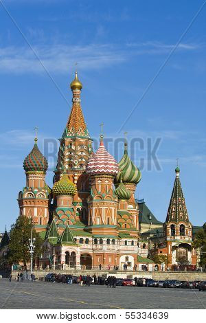 Moscow, St. Basil's Cathedral