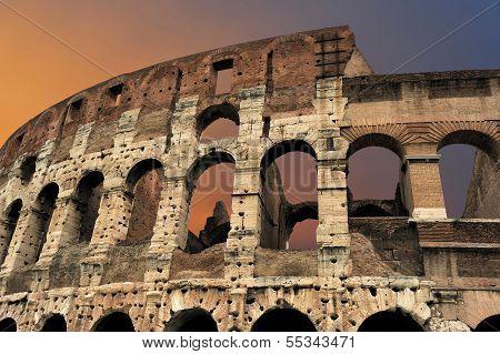 Flavian Amphitheatre (colosseum), Rome