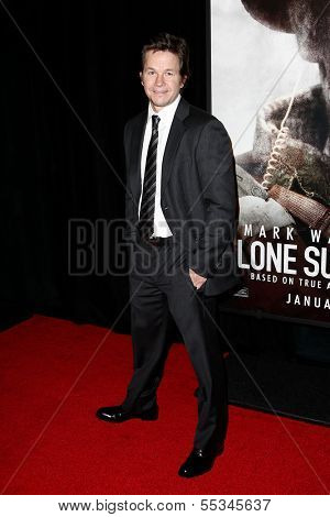 NEW YORK-DEC 3: Actor Mark Wahlberg attends the premiere of