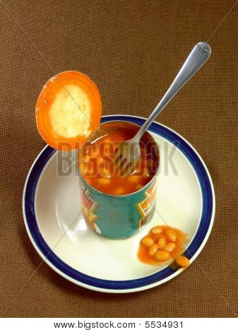 Meal Of Baked Beans