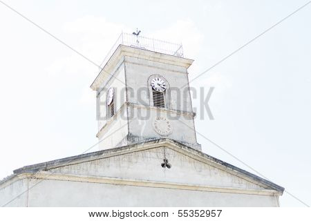 White Clock Tower