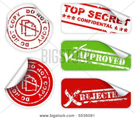 Top Secret Labels And Stickers