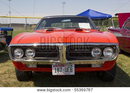 1967 Pontiac Firebird Front View