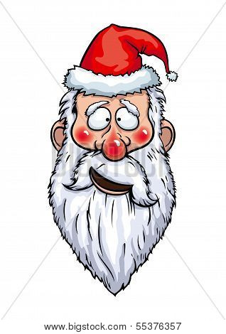Santa Claus Confused Head