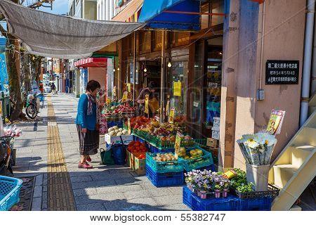 Grocery store in Nagasaki