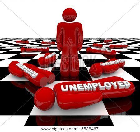 Desemprego - o último homem de pé