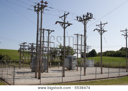 Rural Electrical Substation