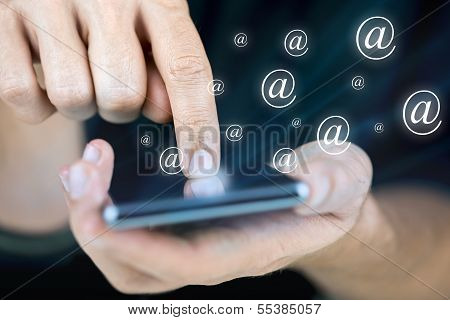 Sending Email On Mobile Phone