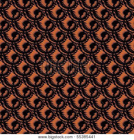 Design Seamless Spiral Diagonal Pattern. Trellis Background