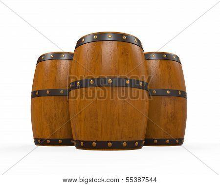 Wooden Beer Cask