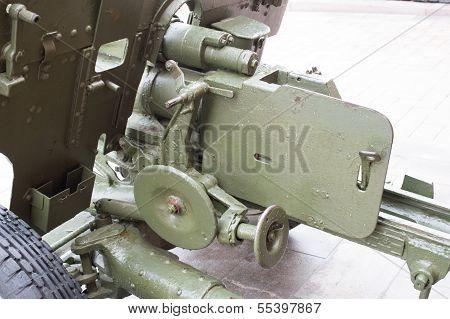 Breech Of Russian Anti-tank Regiment 57-mm Gun Of The Second World War