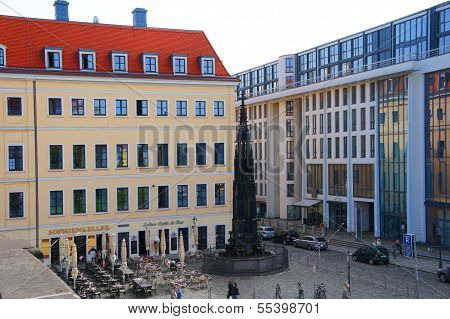 Cholera water well in Dresden