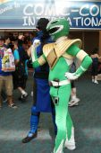 Power Ranger Shows Off His Bump
