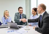 stock photo of handshake  - business - JPG