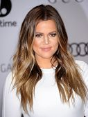 LOS ANGELES - DEC11:  Khloe Kardashian arrive to Women in Entertainment Breakfast 2013  on December