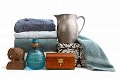 stock photo of thrift store  - Various used items collected to donate or sell - JPG