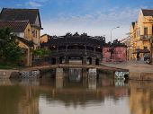 stock photo of champa  - Hoi An Ancient Town is a South-East Asian trading port dating from the 15th to the 19th century. 