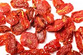 image of plum tomato  - A digital photo of some dried tomatoes - JPG