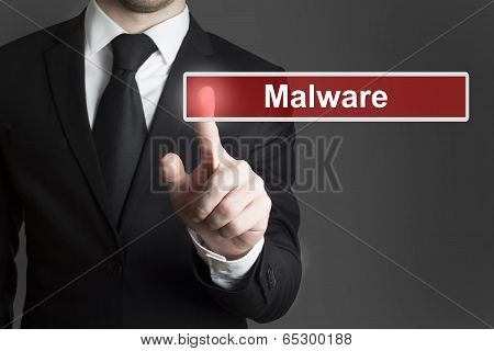 touchscreen malware button