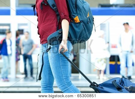 Young Female Traveller