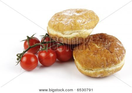 Tomatoes And Doughnuts