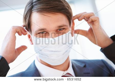 Putting On Mask