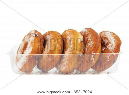 Donuts In The Plastic Case