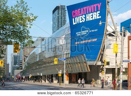 The Art Gallery Of Ontario In Toronto, Canada