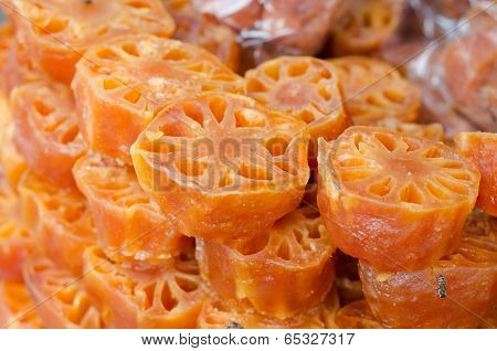 Lotus Root In Syrub