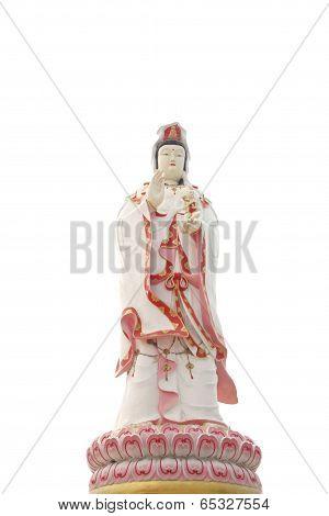 Guan Yin Statue.