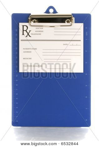Prescription Clipboard