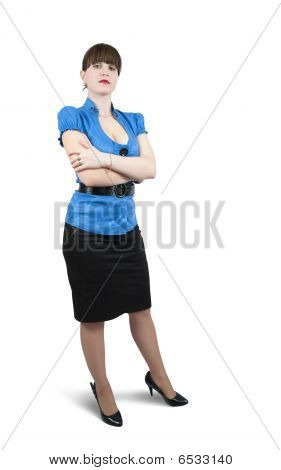 Shot Of Businesswoman