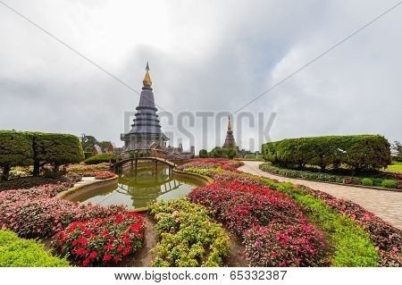 North Pagoda in Thailand