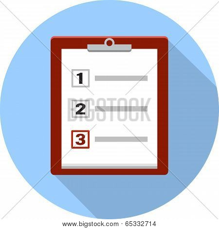Checklist and Clipboard